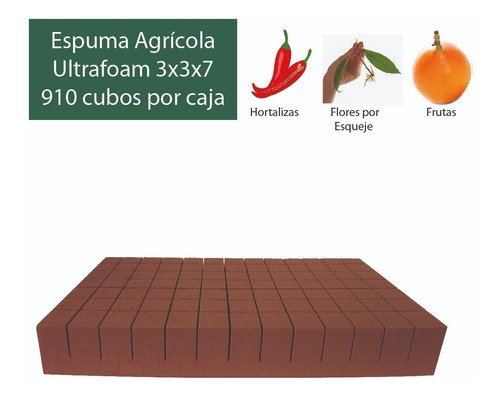 Imagen 1 de 2 de Caja De Espuma Agrícola Ultrafoam