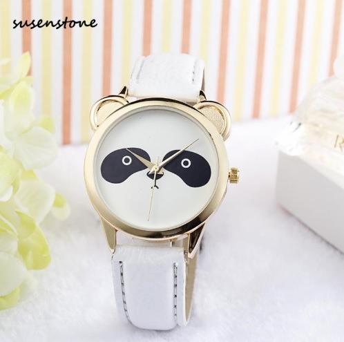 Relógio Feminino Analógico Panda