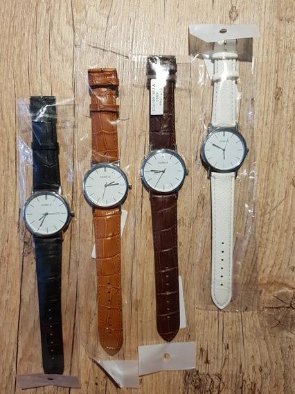 Relógio Social, Clássico E Minimalista