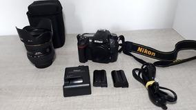 Máquina Fotográfica Nikon D7000 + Lente Nikon 24x70 2.8