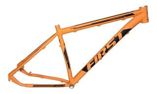 Quadro De Bicicleta Aro 29 First Smitt Laranja Tamanho 17,5