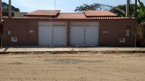 Casa Em Peruíbe Lado Praia À 1200 Mts Do Mar   3725 E