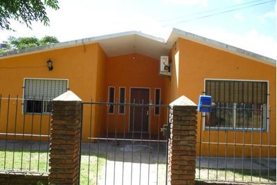 Chale A 2 Aguas + Parrillero Y Garage.apta Banco