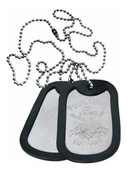 Plaqueta De Identificação Fuzileiros Navais