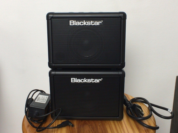 Kit Caixa Amplificador Blackstar Fly 3 Mini Guitarra Stereo