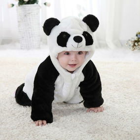 Macacão De Inverno Para Bebê Fantasia Animal Panda Promoção