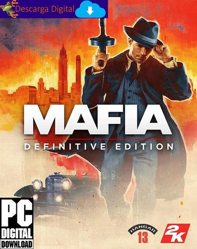 Mafia Definitive Edition Remake Juego Pc Descarga Digital