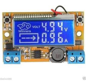 Conversor Regulador De Voltagem Dc-dc Step-down Amperimetro