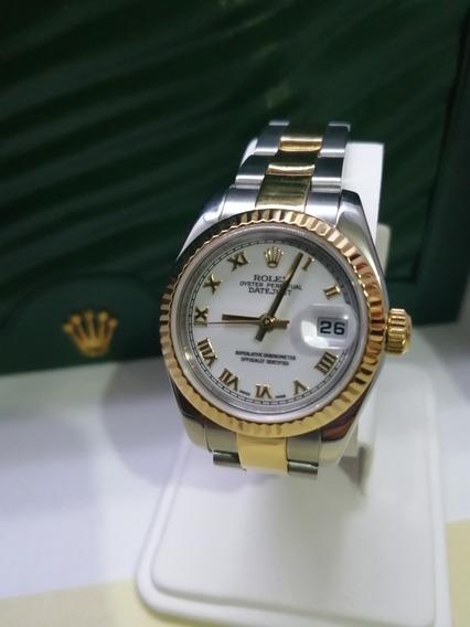 Reloj Dama Rolex Oyster Perpetual Date Just Original