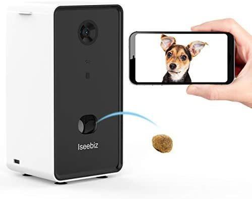 Cámara Inteligente Para Mascotas Iseebiz Audio De 2 Vías