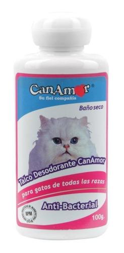 Talco Canamor Desodorante-para Gatos