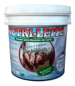 Nutri-leite Simbiótico 5 Kg Premix P/ Mistura Agrocave