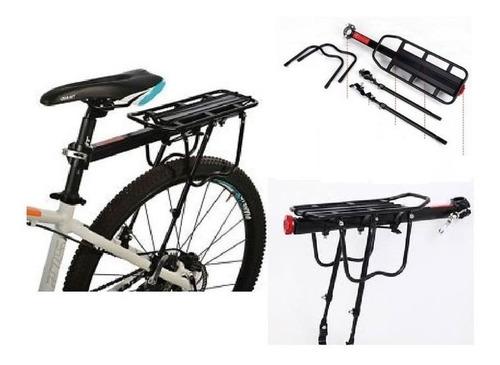 Parrilla Bicicleta Aluminio Todo Tipo Incluso Disco Y Alforj