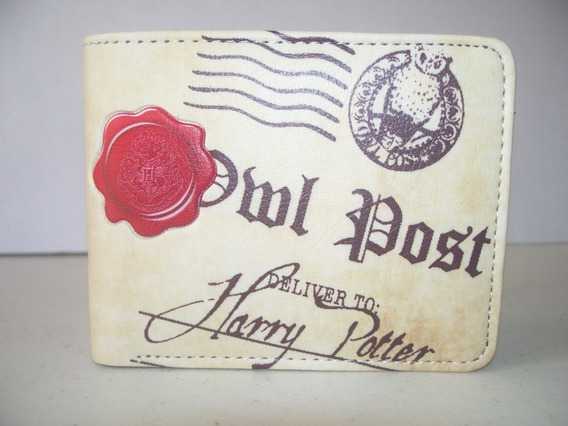 Cartera Billetera Harry Potter Carta Hogwarts Owl Post