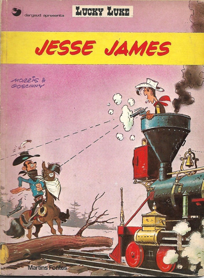 Lucky Luke - Jesse James - Martins Fontes - 1983