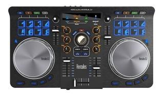 Controlado De Dj Hercules Universal Dj Con Interfaz De Audio