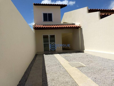 Casa Residencial À Venda, Barrocão, Itaitinga. - Ca0508