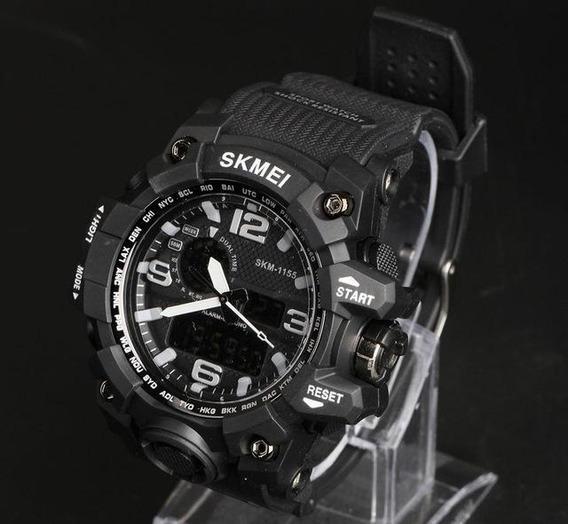 Skmei 1155 Men Led Digital Quartz Watch - Preto