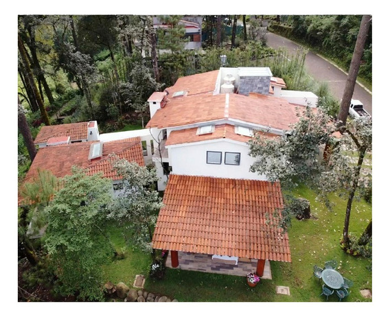Espectacular Residencia En Rancho Avandaro Valle De Bravo