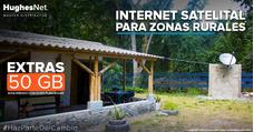 Internet Satelital Rural Hughesnet - Oferta 1 Mes Gratis