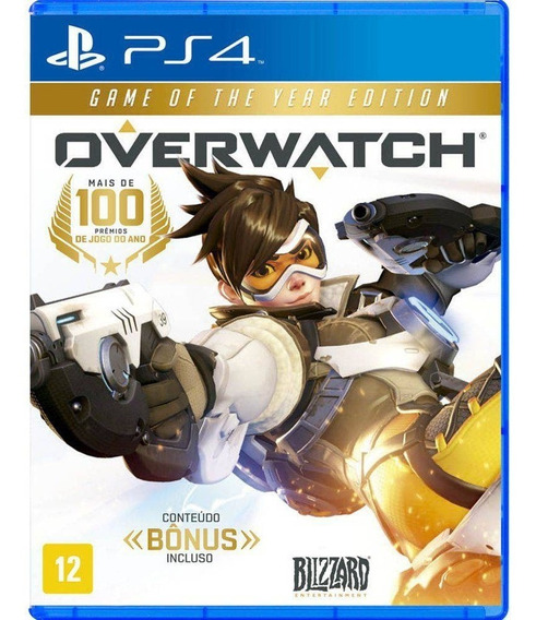Jogo Overwatch: Game Of The Year Edition - Ps4 Midia Fisica