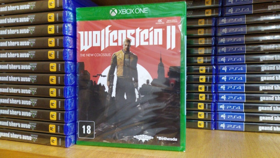 Wolfenstein 2 Ii The New Colossus Xbox One Mídia Física Ptbr
