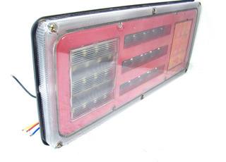Unidades Calavera Universal Izq Der Led Gel Reversa Cuarto Stop Y Direccional Pieza C-c167