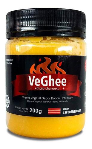 Imagem 1 de 11 de Creme Vegetal Sabor Bacon Defumado Sem Glúten Vegano 200g