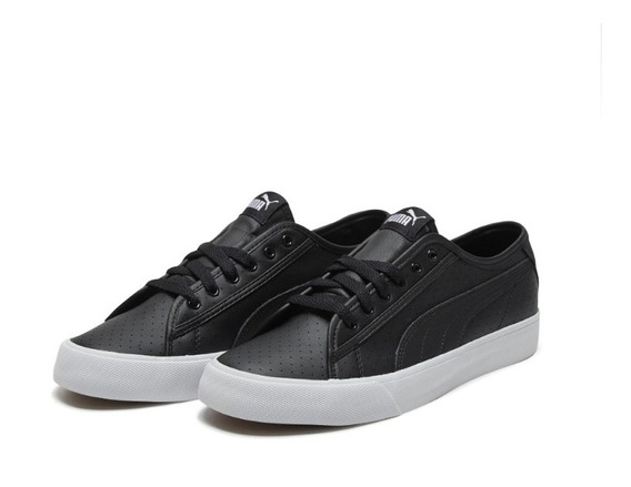 Zapatos Puma Bari Fp Black White