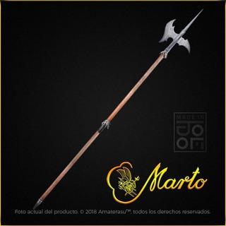 Hacha Pica Alabarda Medieval Real Marto Toledo España Espada