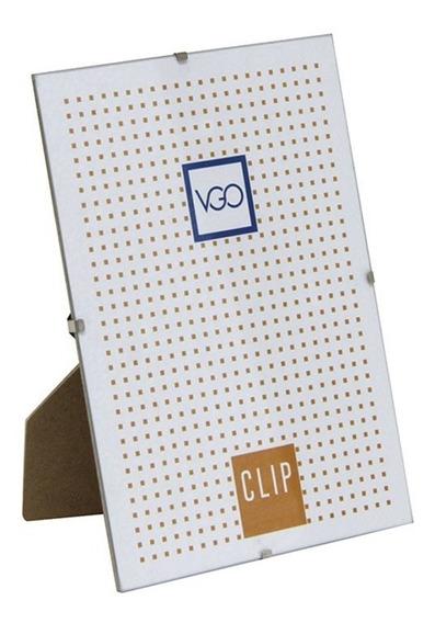 Portaretrato 15x21cm Vgo Clip Vidrio