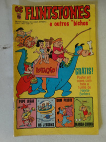 Os Flintstones Nº 1! Editora Abril Dez 1972!