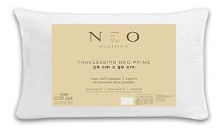 Travesseiro Neo Prime Ecopluma Percal Algodão 233 Fios 50x90