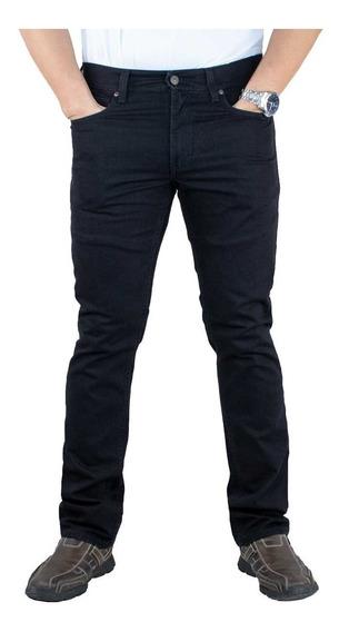 Pantalón Breton De Gabardina Slim Fit. Estilo Bjm048