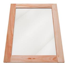Espelho Vertical Com Moldura Em Madeira Maciça Rima Dh
