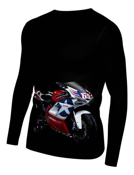 Playera Dry Fit Sublimada Full Print Moto Ducati
