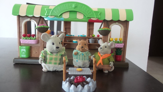 Casita Tienda Casa De Ternurines De Conejos De Muñecas