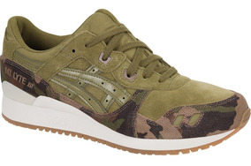 Asics Gel Lyte Camo Tiger Tenis Casuales Onitsuka Sneaker