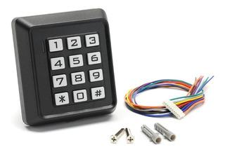 Teclado Control Acceso Tarjetas Codigo Seguridad Personal