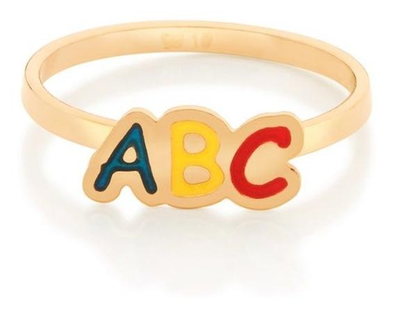 Anel Rommanel Infantil Formatura Abc 512803