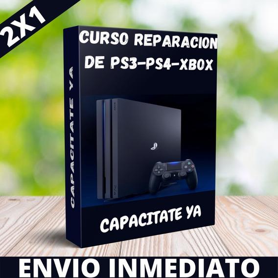 Curso De Reparacion Ps3,ps4 Y Xbox,envio Inmediato