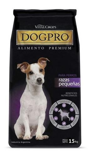 Imagen 1 de 6 de Alimento Premium Dogpro Adultos Mordida Pequeña  X 15 Kg