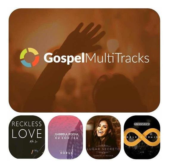 Pacote Com 130 Multitrack Gospel ( Vs Aberto )