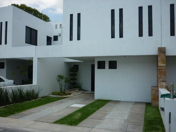 Renta Casa Cerca De Explanada, Av Principales Cholula Puebla