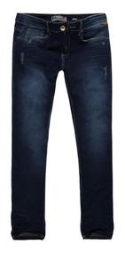 Calça Jeans Masculina Slim Cintura Baixa