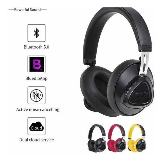 Fone De Ouvido Bluetooth Bluedio Tms - Preto - Frete Grátis