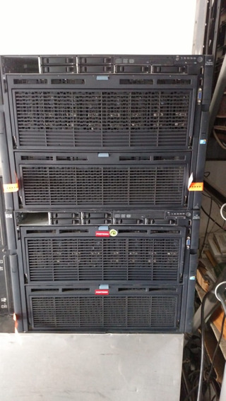 Servidor Hp Proliant Dl 980 Com 4 Processadores Eight Core