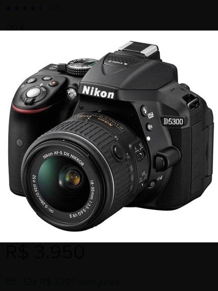 Câmera Digital Dslr Nikon D5300 Kit Youtuber