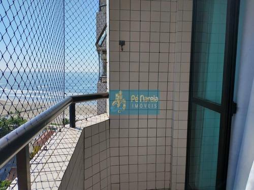 Apartamento Com 2 Dormitórios À Venda, 78 M² Por R$ 280.000,00 - Maracanã - Praia Grande/sp - Ap0896