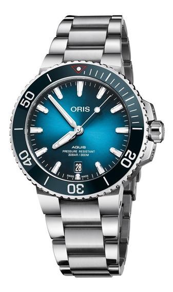 Reloj Oris Aquis Clean Ocean 73377324185